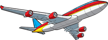 Airplane Clip Art Vegas Plane Png Library Rr Collections