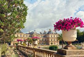 palace in the luxembourg gardens paris france stock photo 31422648