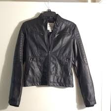 maralyn me jackets coats macys leather jacket nwot poshmark throughout