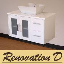 rhodes pursuit mm bathroom vanity unit: duo mm white oak timber wood grain wall hung bathroom vanity