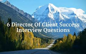 Interview Questions About Success 6 Director Of Client Success Interview Questions Trupath Search