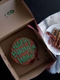 A Birthday Cake For Harry Tea And Fog