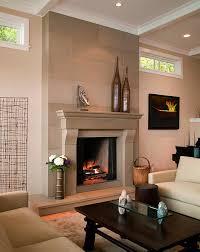 fireplace surround ideas modern fireplace cornice cast concrete