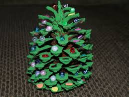 Pine Cone Christmas Decorations Holiday How To Pine Cone Christmas Tree Any Second Now