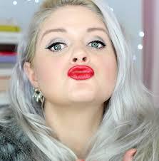 old hollywood glamour holiday makeup look everydaystarlet sarahblodgett