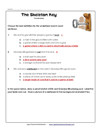 Stunning Teachers Worksheets And Answers Photos - Worksheet ...