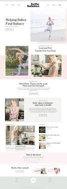 Wellness Website Design Inspiration The 10 Best Health Wellness Squarespace Inspiration
