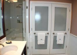 bathroom closet doors ideas glass cupboard cabinet bunnings
