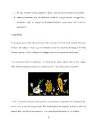 motivation letter and motivation essays college applications  8