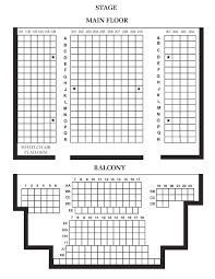 View Beall Hall Seating Chart Jpg Uo Ticket Office