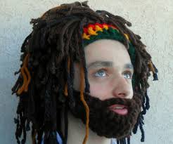 Bearded Rastafarian Hat Unique Rastafarian