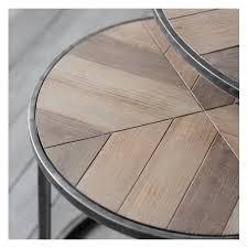 hudson living douglas coffee table nest of 2