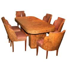 documented french art deco dining room suite by marcel guillemard art deco dining room