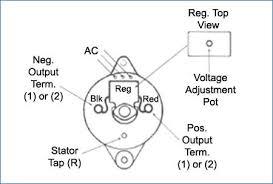 dynamo to alternator conversion wiring diagram Two Wire Alternator Wiring Diagram contemporary dynamo to alternator conversion wiring diagram ensign rh healthygets info