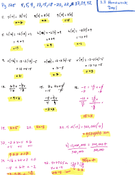 chapter graphing linear functions mr roos hempstead high equations worksheet answer key hw and solutions