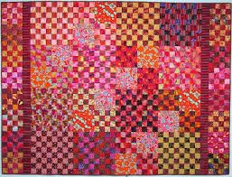 18 best Kaffe Fassett fabric quilts images on Pinterest   Colors ... & pretty checkerboard quilt from exuberant color -- Love the bright colors!  Find this Pin and more on Kaffe Fassett fabric ... Adamdwight.com