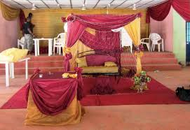 Wedding Decorations Re Nigerian Traditional Wedding Stage Decoration Wedding Decor