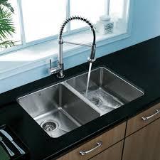 best kitchen sink double bowl undermount vigo vg2918 18 gauge stainless steel undermount 5050 double bowl