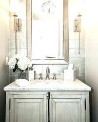 Guest Bathroom Remodel Simple Half Bathroom Remodels Lajt