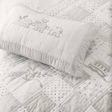 Noah's Ark Quilt | Baby Shower | The White Company UK & Elephants Quilted Cushion Cover - White Adamdwight.com