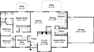 ranch home floor plans. Perfect Ranch Ranch Style House Plans  2086 Square Foot Home  1 Story 4 Bedroom And 2  Bath Garage Stalls By Monster Plan 17477 With Floor A