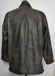 just one earth j o e by joseph abboud men s thick leather car coat u s 61 2 7 kg