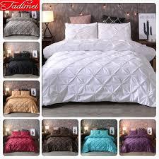 solid plain pure color bed linen quilt comforter duvet cover pillow case bedclothes child soft bedspreads queen king size comforters duvet
