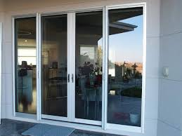 wilder overheight double slider doors with screens