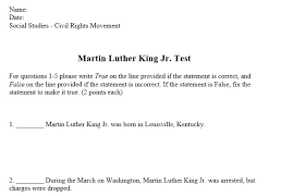 selected response essay test miss donnelly s daily apple the test portion is multiple choice true false matching and short essay questions at the end it really dives into martin luther king s life