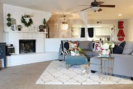 area rug over carpet ideas