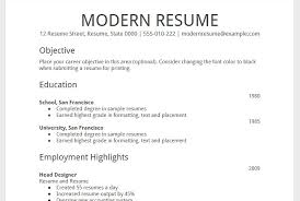 Resume Examples 2014 5 Newest Format New 2016 Formats