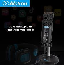 <b>Alctron CU58</b> настольный <b>USB</b> конденсаторный <b>микрофон</b> plug ...