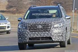 2018 subaru ascent spied. unique 2018 2018 subaru ascent spy shots in subaru ascent spied a