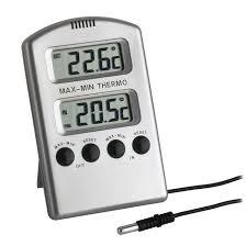 TFA 30.1020 Digital <b>Min</b>//<b>Max Thermometer</b> TFA <b>Dostmann</b> ...