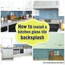 installing mosaic tile backsplash kitchen