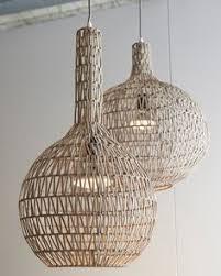 rattan pendant lighting. NetDeco \u2014 Woogie Rattan Pendant Light Lighting A