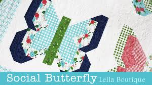 How to Make the Social Butterfly Quilt - Lella Boutique - Fat ... & How to Make the Social Butterfly Quilt - Lella Boutique - Fat Quarter Shop Adamdwight.com
