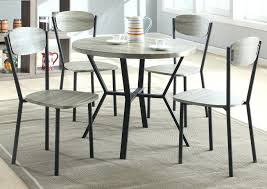Circle Dining Room Table Round Dining Room Table W 4 Side Mark Small