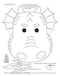 template of a dragon printable dragon masks mr printables