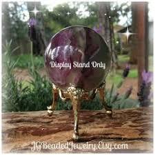 Decorative Ball Holder Crystal Ball Display Stand Sphere Holder Golden Decorative Egg 51
