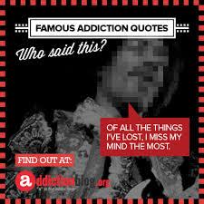 Drug Addiction Quotes Interesting Drug Addiction Quotes And Sayings Addiction Blog