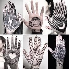 10 любопытных идей для тех кто хочет татуировку на ладонях