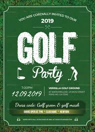Golf Invitation Template Golf Party Invitation Design Template In Word Psd Publisher