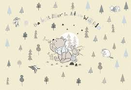 <b>Фотообои</b> оптом <b>Komar</b> > <b>Disney</b> 8-4024 <b>Winnie</b> Pooh Best Bear ...