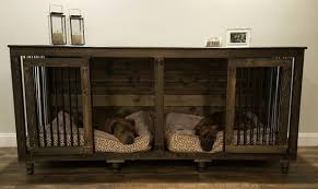 designer dog crate furniture ruffhaus luxury wooden. Large Dog Crate Furniture Midl Designer Ruffhaus Luxury Wooden A