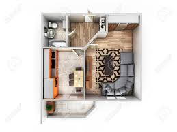 interior view photography. Unique Interior Interior Apartment Roofless Top View Layout 3d Render Stock Photo   85508765 And Interior View Photography
