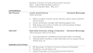 Examples Of Resumes Sample Resume Sales Associate Clothing Store