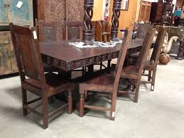me val dining set amazing set of 8 gothic oak dining chairs from gothic dining room