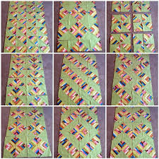 384 best String Quilts images on Pinterest | Crazy quilting ... & Part 2: HST String Quilt Tutorial Adamdwight.com