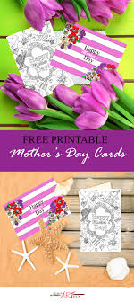 Print A Mother S Day Card Online Free Printable Mothers Day Cards Blog Cayman Art Fix Adult